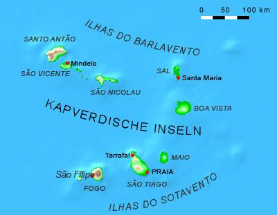 Wo Liegt Kapverden Karte.Revierbericht Cabo Verde