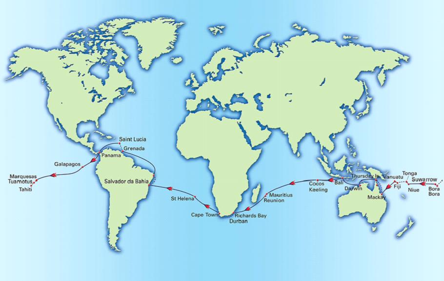 Zu zweit mit WorldARC um die Erde (1)