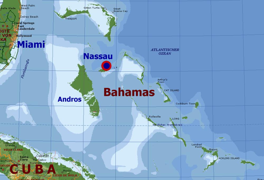 Die Bahamas 2012 - ab Florida (US)